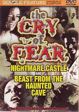 Cry of Fear: Nightmare Castle and Beast From the Haunted Cave (Thin Case)(DVD)