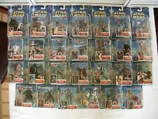 Star Wars SAGA AOTC (mostly) Collection 1 Complete 27 figures in total~2002~ NEW