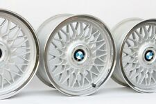 BMW 16 BBS #5 CUSTOM POLISHED 4x100 Genuine Factory OEM Wheels E30 E21 E10 2002
