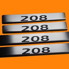 411640 MAT 4 LES SEUILS DE PORTE PEUGEOT 208 LETTRAGE NOIR 208