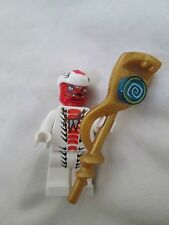 Lot Lego Ninjago Snappa Minifig 9442 Jay Storm Fighter 2012 Gold Snake Staff