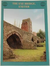 EXE BRIDGE HISTORY Stone River Crossing Exeter Devon Houses Shops Archaeology