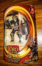 MORIA ORC! Lord of the Rings LOTR FOTR Fellowship of the Ring Toy Biz RARE!!