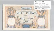 BILLET FRANCE - 1000 FRANCS - 22 Septembre 1938 **