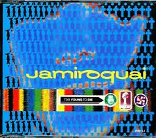 JAMIROQUAI TOO YOUNG TO DIE 4 TRACK AUSTRALIAN PRESSING CD - EXCELLENT - VGC