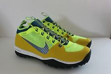 Nike Mens Lunarincognito Bright Citron Blue Athletic Sneaker Shoe Size 11 M