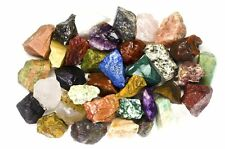 India 2 Pounds Healing Reiki Chakra Stone Set Crystal Natural Raw Rough Sacral