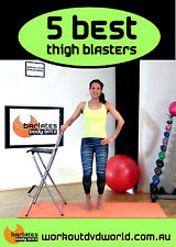 Barre Toning EXERCISE DVD Barlates Body Blitz - 5 Best Thigh Blasting Exercises