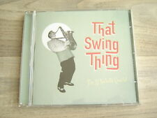 jazz CD swing british PRIVATE uk contemporary AL NICHOLS THAT SWING THING 2013