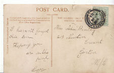 Genealogy Postcard - Family History - Bently - Newton Crescent - Gorton   BT977