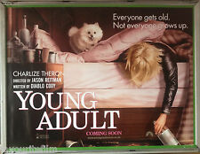 Cinema Poster: YOUNG ADULT 2012 (Bed Quad) Charlize Theron Patrick Wilson