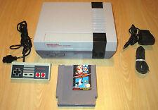NINTENDO NES CONSOLE SET - 1 Control Pad + Super Mario Bros / Duck Hunt