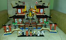 Lego Ninjago 2507 Fire Temple 100% Complete + Instructions