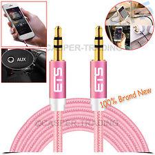 ® ETS 2M 3.5mm Cable de Audio AUX Jack Plug a Plug macho de plomo MP3 iPod Auriculares UK