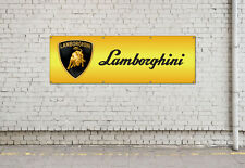 LAMBORGHINI workshop, garage, office or showroom pvc banner