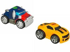 TRANSFORMERS OPTIMUS PRIME AND BUMBLEBEE RPM'S AUTOBOTS WITH LIGHTS AND SOUNDS