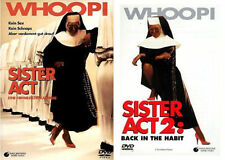 Sister Act 1 + 2 - Whoopi Goldberg - DVD - *NEU*