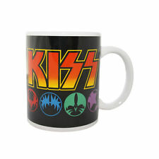 NEW KISS MASKS BOXED MUG RETRO MUSIC OFFICIAL ROCK COFFEE CUP TEA CERAMIC GENE