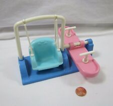 "FISHER PRICE Loving Family Dollhouse TEETER TOTTER SWING See Saw 3-6"" Dream #1"