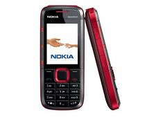 Brand New Black/Red Nokia 5130 Telcel GSM Quadband Bluetooth 2 MP Camera in box