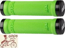 ODI RUFFIAN LOCK-ON GREEN BMX-MTB BICYCLE GRIPS