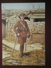 POSTCARD THE IRISH GUARDS - OFFICER FRANCE 1915