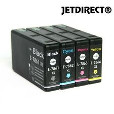 T786XL E786XL  INK CARTRIDGES NEW JETDIRECT 4PK for EPSON WORKFORCE PRO WF-4630