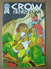 CROW OF THE BEAR CLAN - USA BLACKTHORNE COMIC - No 1 1986