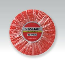 SENSI TAK Red Liner adhesive Tape Roll 3/4 X 36 by Original Brand Walker Tape