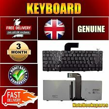 For DELL INSPIRON N5050 E3330 Black Keyboard with Backlit UK Layout