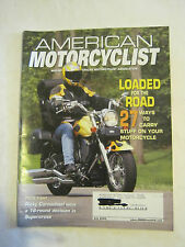 July 2003 American Motorcyclist Magazine, Loaded For The Road  (BD-25)