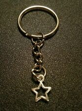 Star Punk Rock Star Style Key Chain Charm Pendant Gift