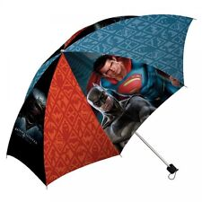 Batman Vs Superman School Rain Brolly Umbrella Brand New Gift