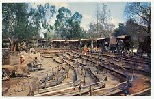 "Vintage KNOTT'S Postcard: ""Covered Wagon Camp"""