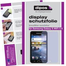 1x Samsung Galaxy S WiFi 5.0 Schutzfolie klar Displayschutzfolie Folie Passgenau