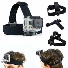 Elastic Adjustable Head Harness Belt Strap Band Mount for Gopro Hero 1 2 3+ 4