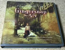 Gingersnap by Patricia Reilly Giff (2013, CD) Audio CD Book