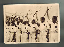 Mint 1932 USSR Soviet Union Russia Tennis Players Real Picture Postcard RPPC