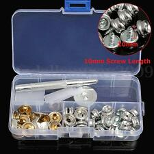 Snap Fastener Stainless Canvas To Screw Kits Tool For Boat Cover/Canopy Fitting