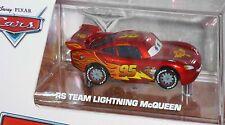 Disney Pixar Cars Lightning McQueen RS Team Ransburg Paint Target Special Edit