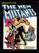 Marvel Graphic Novel (1981) #4 1st App New Mutants 1st Prt Claremont McLeod VF+