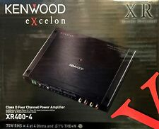 NEW Kenwood XR400-4 Reference 4-Channel - Stereo Bridgeable Class D Amplifier