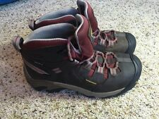 Keen Mid Rise Womens  Waterproof Keen Dry US 8 Brown Hiking Boot Kd1