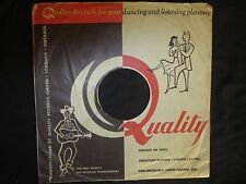 "78RPM 10"" Quality (Canadian) Original Record Sleeve about VG"
