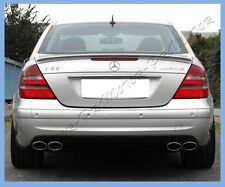 PAINTED 03-09 Benz W211 For E350 E500 E550 E55 AMG Type Wing Trunk Boot Spoiler