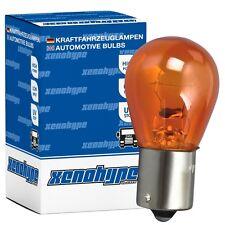 4x PY21W XENOHYPE Premium BAU15s 24 V 21 Watt LKW Kugellampe Blinkerlampe