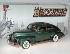 Brooklin BRK 206, 1941 Pontiac Streamliner Torpedo Sedan Coupe, green, 1/43