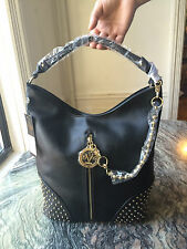 VERSACE 1969 ERA TOTE HANDBAG BLACK