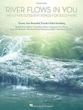 River Flows in You and Other Eloquent Songs for Solo Piano, , Excellent Book