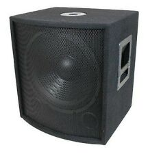 MCM CUSTOM AUDIO 555-10317 PA / DJ SPEAKER 12 INCH SUBWOOFER